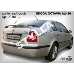 Škoda Octavia I HTB (96+) spoiler zadnej kapoty (EÚ homologácia)
