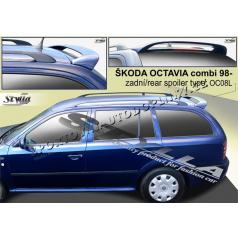 Škoda Octavia I combi spoiler zadných dverí horný (EÚ homologácia)