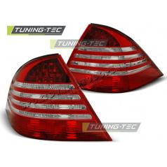 MERCEDES S-KLASA W220 1998-2005 ZADNÍ LAMPY RED WHITE (LTME16)