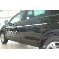 Nissan Qashqai +2, 2009-2013, suv, boční ochranné lišty dveří