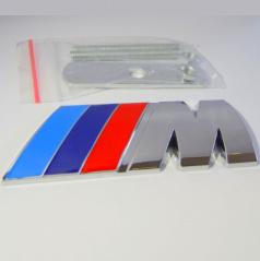 Znak BMW M POWER do prednej masky kovový