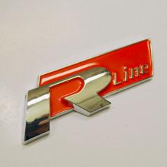 Znak R-LINE pre športové modely VW s podlepením