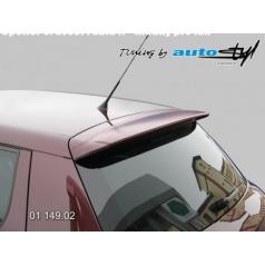 Spoiler 5. dverí - hladký pre lak Škoda Fabia II