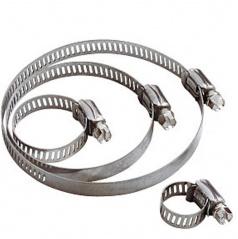 Nerezové spony pre maximálne utiahnutie pre priemer 60-80 mm