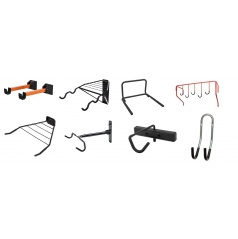 Držiak či držiaky na bicykle na stenu