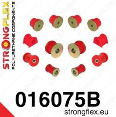 Alfa Romeo 156 Strongflex zostava silentblokov len pre prednú nápravu 12 ks