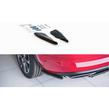 Bočné difúzory pod zadný nárazník pre Škoda KodiaQ RS, Maxton Design (čierny lesklý plast ABS)