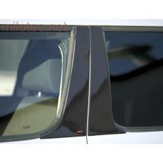 Kryty dverových stĺpikov - ABS čierna metalíza - Škoda Yeti - skladom