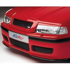 Kryty svetlometov Milotec (mračítka) - ABS čierny, Škoda Octavia Facelift