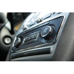 Škoda Octavia II 09-12 - chrom rámček panelu rádia KI-R