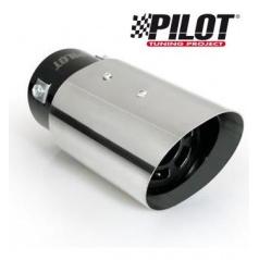 Koncovka výfuku Pilot nerez ovál 95x80 mm