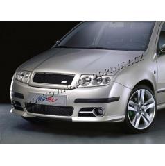 Mriežka nárazníka Milotec čierna Škoda Fabia Facelift