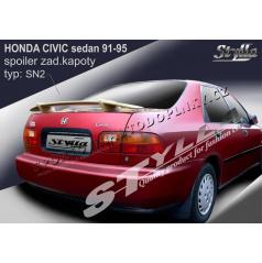 HONDA CIVIC sedan 91-95 spoiler zad. kapoty (EU homologace)