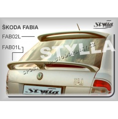 Škoda Fabia HTB spoiler zadných dverí horný (EÚ homologácia)