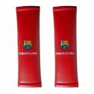 Originálne návleky na pásy s logom FC Barcelona červené