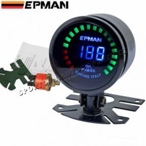 EPMAN RACING digitální budík 52 mm tlak oleje
