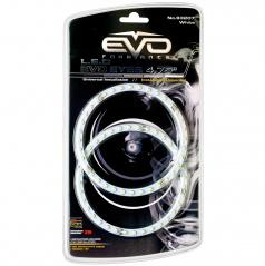 LED SMD krúžky s priemerom 12 cm 8000K 2 ks