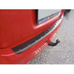 Prah piatych dverí s výstupky, 3D Carbonstyl - Škoda Fabia II Combi, RS Combi 2008-2014