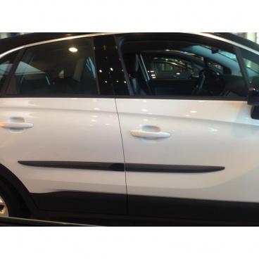 Ochranné bočné lišty na dvere, Opel Crossland X, 2017+