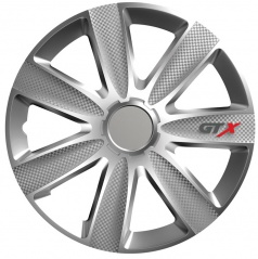 """Kryty kol GTX CARBON silver 14-16"""" (po 1 ks)"""