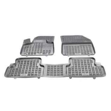 Gumové autokoberce, Citroen DS7 Crossback, 2018+, verzia sa chrbta. tunelom