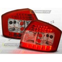 AUDI A4 (B6) 2000-04 zadné LED lampy RED WHITE (LDAU46)