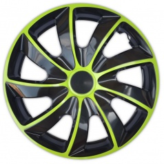 "Kryty kolies Quad Bicolor Green 13-16"" (po 1 ks)"