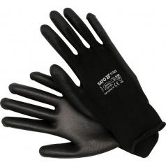 Pracovné rukavice nylon / polyuretán vel.10