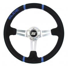 Športový volant WRC Blue 350 mm