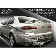 Alfa Romeo 159 05+ spoiler zadnej kapoty (EÚ homologácia)