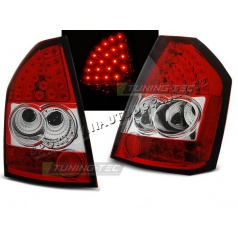 Chrysler 300C / 300 2009-10 zadní lampy red white LED (LDCH11)