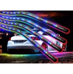 Osvetlenie podvozku s diaľkovým ovládaním zelené a multicolor (viacfarebný)