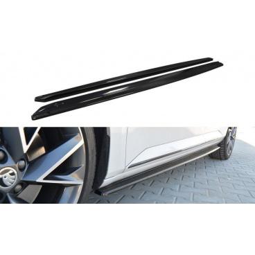 Difúzory pod bočné prahy pre Škoda Superb Mk3, Maxton Design (plast ABS bez povrchovej úpravy)