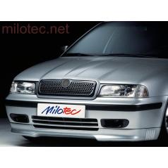 Spoiler Milotec - pre predný nárazník, Škoda Octavia