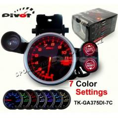 PIVOT - DEPO RACER 80 mm digitálny nastaviteľný otáčkomer 0-11000 RPM