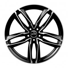 Alu koleso GMP ATOM black diamond 10x21 5x130 ET45