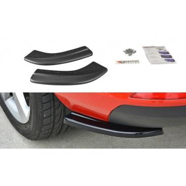 Bočné difúzory pod zadný nárazník pre Škoda Rapid, Maxton Design (Carbon-Look)