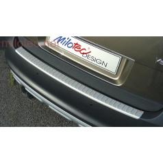 Prah piatych dverí s výstupky, ABS-strieborný, Škoda Yeti 09/2009 +