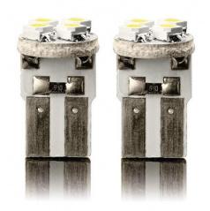 Žiarovka LED4 super silná T10 12V 5W - biela 2ks
