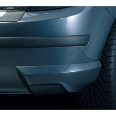 Rozšírenie zadného nárazníka, čierne - Škoda Fabia I Limousine 2000-2007