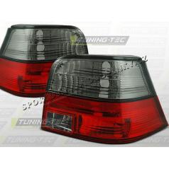 VW GOLF IV 1997-03 ZADNÍ LAMPY RED SMOKE (LTVW85)