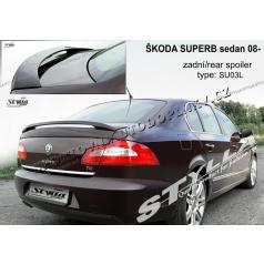 Škoda Superb sedan 2008- zadný spoiler (EÚ homologácia)