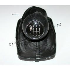 Kompletná radiaca páka Audi A3, S3 1995-99 6 rýchl. čierna koža