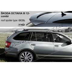 Spoiler zadných dverí horný Škoda Octavia III combi (EÚ homologácia)