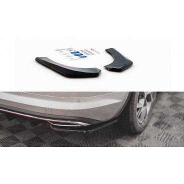 Bočné difúzory pod zadný nárazník pre Škoda KodiaQ Sportline, Maxton Design (čierny lesklý plast ABS)