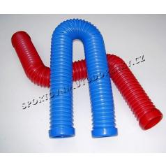 Plastové vzduchové vedenie pre športové sanie 67 alebo 77 mm vr. 2 spôn