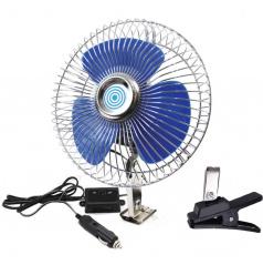 Ventilátor 12V otočný maxi