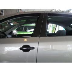 Kryty dverových stĺpikov - ABS čierna metalíza, Škoda Octavia II Combi, Škoda Octavia II Facelift Combi