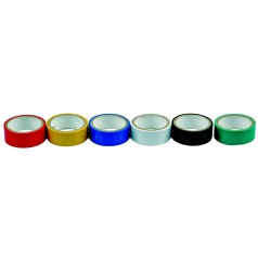 Páska PVC 19 x 0,13 mm x 3 m farebná 6ks
