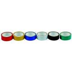 Páska PVC 19 x 0,13 mm x 3 m barevná 6ks